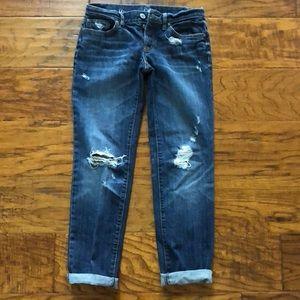 Loft sz 0 boyfriend jeans
